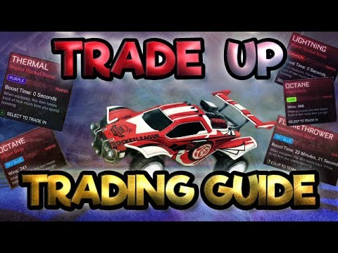 HOW TO GET FREE KEYS USING NEW TRADE UPS!! | ROCKET LEAGUE TRADING GUIDE!!