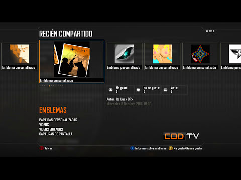 ¿Cómo copiar emblemas en Black Ops 2?Xbox360/Ps3(También sin capturas) Enero 2015