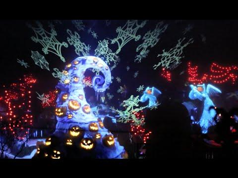 [2014] Haunted Mansion Holiday : HD POV : Full Queue & Ride (Disneyland Resort, CA)