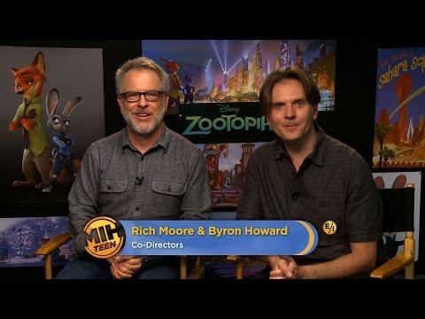 "Co-Directors Rich Moore & Byron Howard On ""Zootopia"""