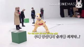 [K-pop kim chi] suga funny #1 đừng tưởng anh nhỏ mà thua