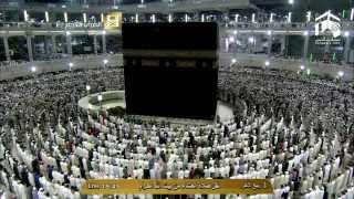 صلاة العشاء  الجمعة 3-4-1436 الشيخ خالد الغامدي