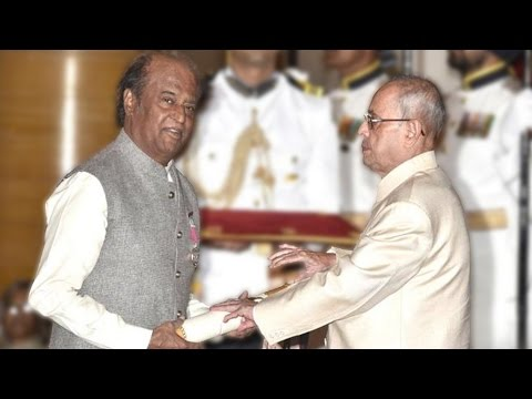 Rajnikanth Honoured with Padma Vibhushan