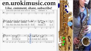 Download Lagu Saxophone lessons (Alto) Imagine Dragons - Natural Sheet Music Tutorial um-ih352 Gratis STAFABAND