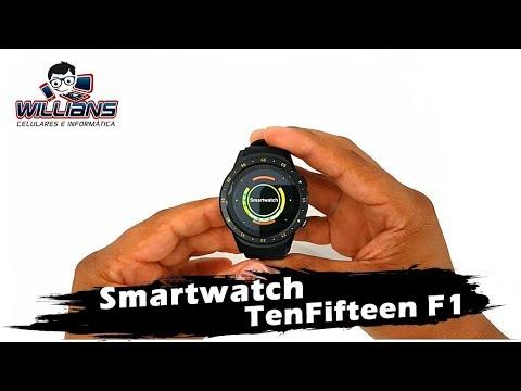 TenFifteen F1 Smartwatch, Bluetooth, GPS, Câmera, Monitor Cardíaco/Sono, Gearbest.com