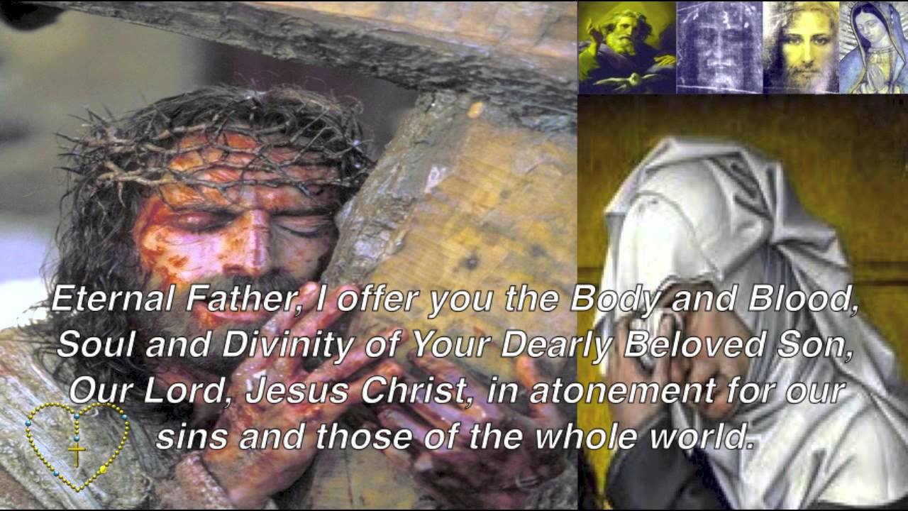 Chaplet of ine mercy passion of christ in song with lyrics