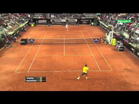 ATP Rome Masters 2011 Final Djokovic vs Nadal - Super Highlights! Watch In HD!