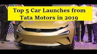 Tata Upcoming Car Launches in 2019. Tata 45x, Nexon JTP, H7x as 7 Seater Harrier, Tiago Facelift