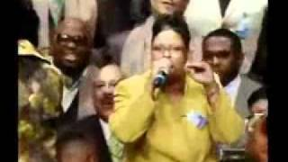 "C.H. Mason Memorial Choir - Singing ""I'll Say yes to my Lord"" 11/02/11"