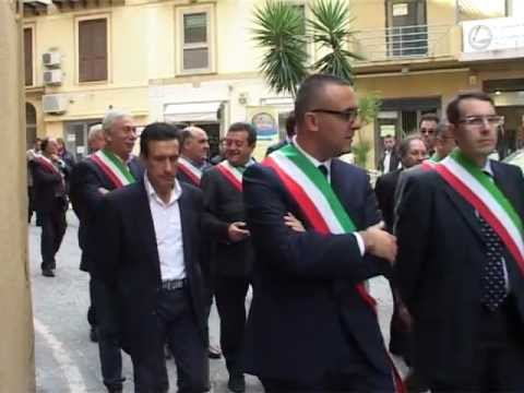 SICILIA TV – Grave crisi economica degli Enti Locali. I sindaci agrigentini in corteo
