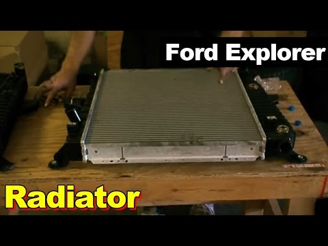 1995 Ford Explorer Radiator Repair
