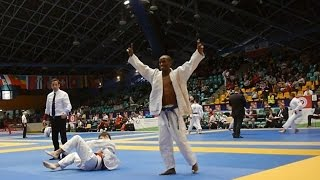 Historical Competation of Yared Negusse in the World Ju-Jitsu Championships, Poland 2016