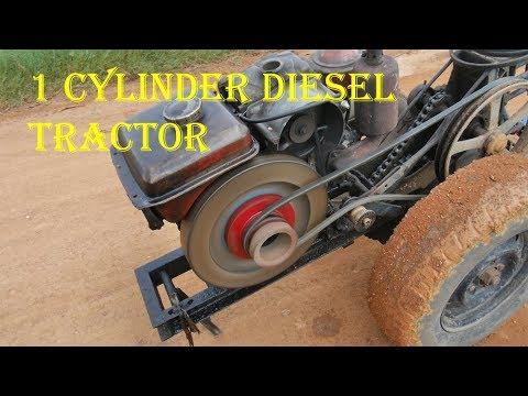 Iron Buffalo. 2 Wheel Tractor. Walking Tractor - Thailand