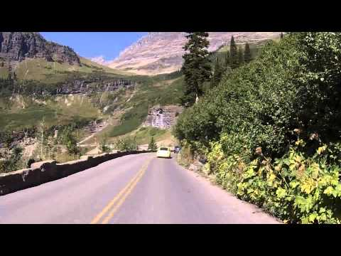 Going-to-the-Sun Road Timelapse