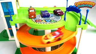 Learn Colors with Disney Cars Color Changing Vehicles Lightning McQueen and Mater!