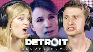 People Plan A Revolution in Detroit Become Human • Scared Buddies