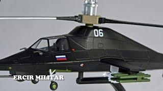 Otro Secreto Militar de Rusia el helicóptero de combate Ka 58 fantasma Negro