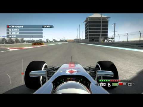 Codemasters F1 2012 demo Abu Dhabi