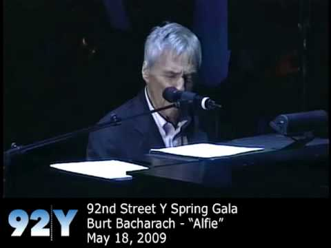 0 Burt Bacharach performs Alfie at 92nd Street Y Spring Gala