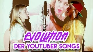 Evolution von YOUTUBER SONGS (Deutschland 2007-2018)