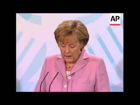 German Chancellor reacts to Pope during presser with Kazakh president
