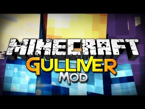 Minecraft Mod Showcase: Gulliver - Embiggen Yourself!