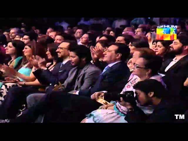 1st Hum TV Awards Show 2013 - Ahsan Khan & Mehwish Hayat Blistering Performance HD