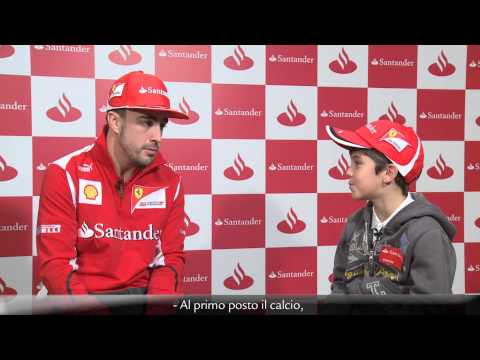 Fernando Alonso concede su entrevista más entrañable