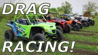 Wildcat XX vs XP1000 YXZ1000R RZR Turbo Maverick X3 drag!
