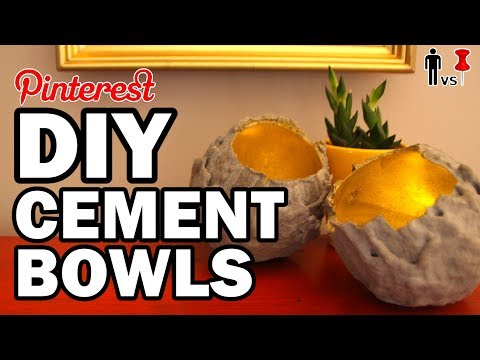 DIY Cement Bowls - Man Vs Pin - 4 YEARS!!!