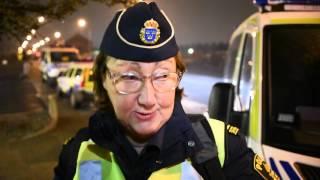 Polisens Ewa-Gun Westford om polisens insats mot migrantlägret på Sorgenfri