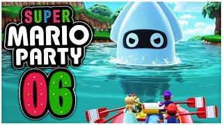 Der MEGA BLOOPER versperrt den Weg!   Super Mario Party Part 6 Deutsch
