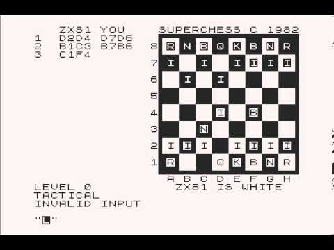 Zx81 - Super Chess