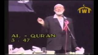 Ahmed Deedat Answer – What is the Muslim position on the virgin birth of Prophet Jesus
