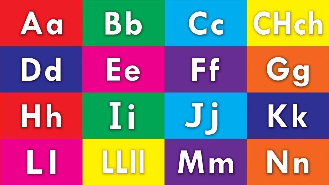 Learn Spanish Alphabet Letters