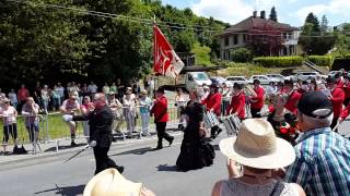 Major Dr Lüthi - Sempach 2015 Parade