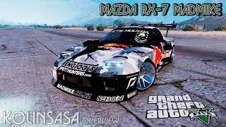GTA 5 Mazda RX-7 MadMike