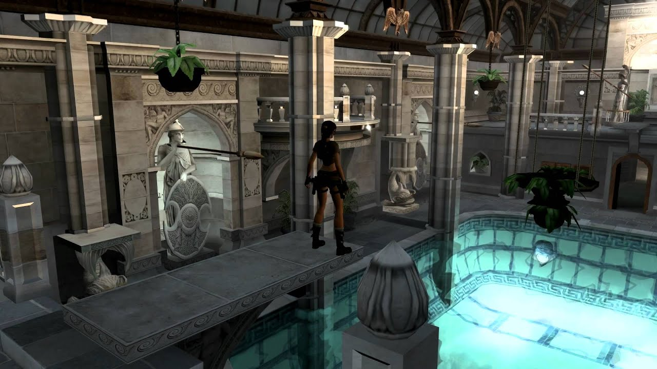 Croft Manor Tomb Raider Legend Raider Legend Croft Manor