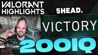 HIKO WITH THE 5Head 200IQ Plays! | Final Valorant Beta Stream Highlights