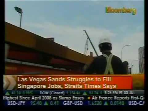 Las Vegas Sands Posts Second Quarter Loss - Bloomberg