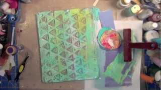 Creative Play: Intro to Gelli Printing