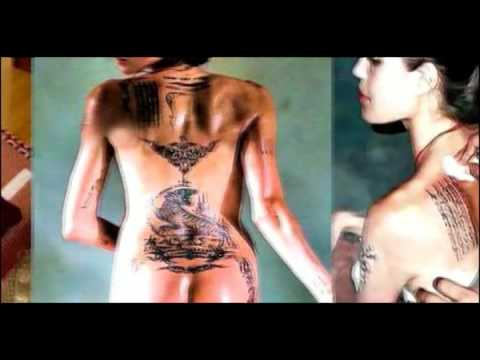 Angelina Jolie Revela Ritual  Illuminati