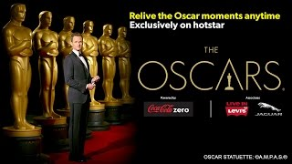 Watch the Oscars - exclusively on hotstar.