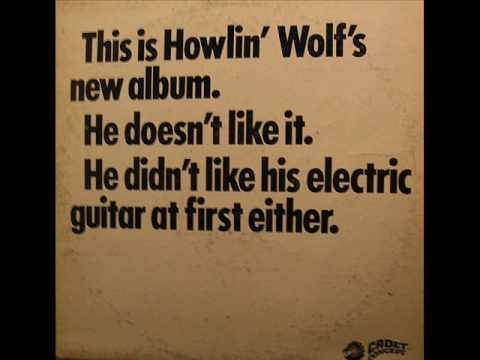 Howlin Wolf - Built For Comfort