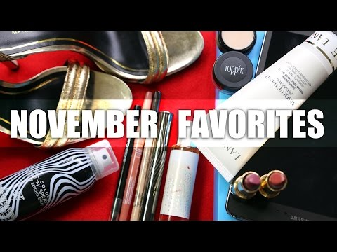 NOVEMBER FAVORITES | Tati