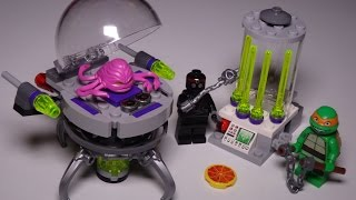 Building: LEGO Teenage Mutant Ninja Turtles KRAANG LAB ESCAPE