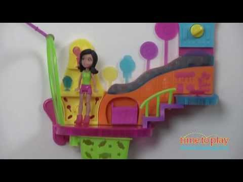 Polly Pocket Wall Party Candy Shop from Mattel