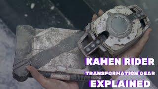 Kamen Rider Transformation Gear EXPLAINED