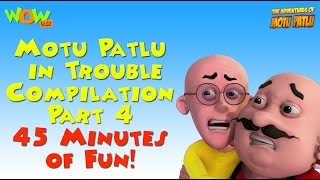 Motu Patlu in Trouble - Compilation Part 4 - 45 Minutes of Fun! As seen on Nickelodeon