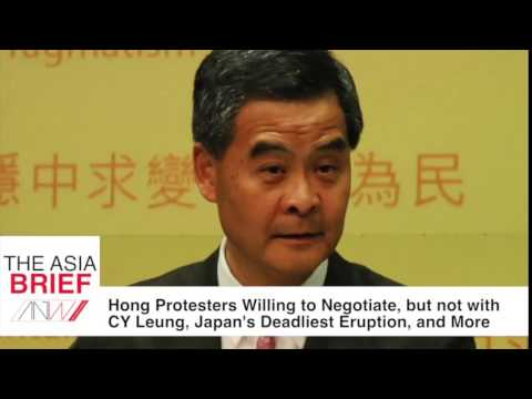 TAB: Hong Kong Protesters Will Negotiate, but not with Leung